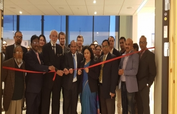 The Embassy of India in cooperation with the Carpet Export Promotion Council inaugurated the Indian Handmade Carpet Exhibition / Buyer Seller Meet at Radisson Blu Hotel, Alna on 12th November, 2018.
