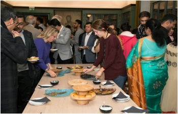 The Embassy of India celebrated 150th Birth Anniversary of Mahatma Gandhi on October 2, 2018.