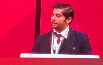 The Embassy of India in Norway congratulates Mr. Himanshu Gulati, member of Norwegian Parliament, on being conferred the Pravasi Bharatiya Samman Award by the President of India at the Pravasi Bharatiya Convention in Varanasi, UP, India.