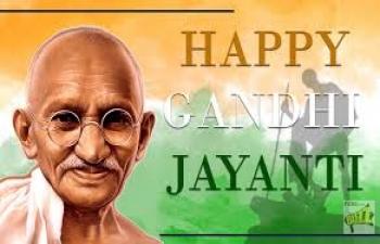 Celebration of Mahatma Gandhi's 150th Birth Anniversary on October 2, 2018