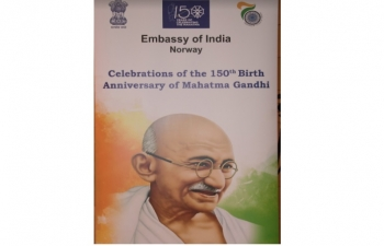 "Commemoration of 150th Birth Anniversary of Mahatma Gandhi"" - October 02, 2018"