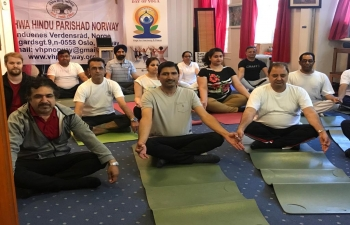 On June 22, the Embassy of India, in collaboration with VHP Norway, celebrated the International Day of Yoga 2019