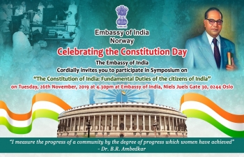 Invitation for Celebration of Constitution Day