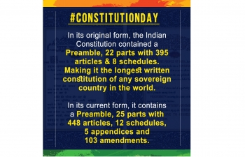 Constitution Day, November 26, 2019