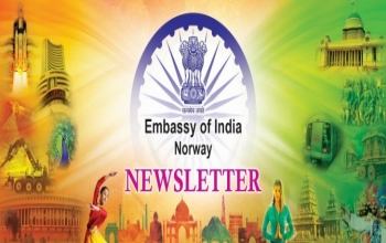 Embassy of India in Oslo, Monthly Newsletter, January 2020