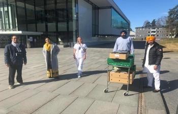 The Embassy would like to congratulateGurudwara Sri Guru Nanak Dev Ji, Oslo for doing a wonderful humanitarian work and making India proud!