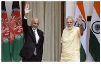 Tweet by President of Afghanistan thanking Prime Minister Shri Narendra Modi