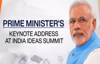 Prime Minister Shri Narendra Modi addressing the #IndiaIdeasSummit organised by @USIBC.