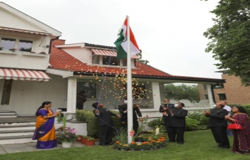 Celebration of 74th Independence Day in Oslo