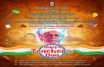 Celebration of Teachers' Day