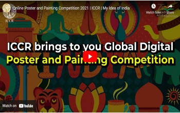 Online Poster and Painting Competition 2021 | ICCR | My Idea of India